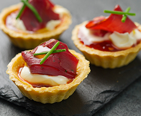 Smoked-Venison-tartlets